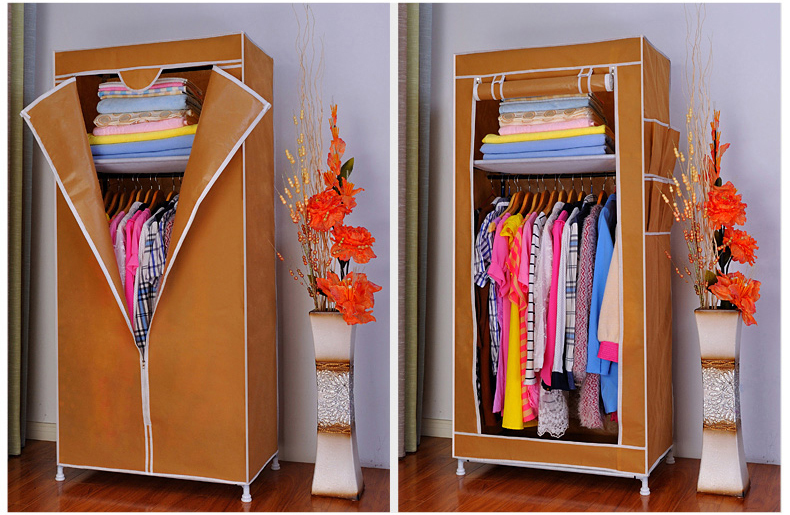 New Non Woven Fabric Folding Underwear Storage Box Bedroom: New Reinforced Small Portable Closet Folding Clothes