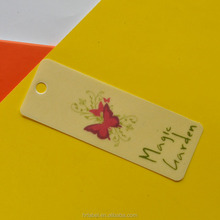 Direct factory high quality wholesale hot sale new arrival Garment printing PVC hangtag