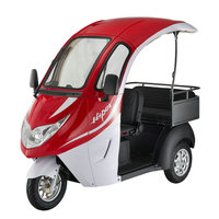 2017 New adult cargo and passenger 3 wheel electric tricycle