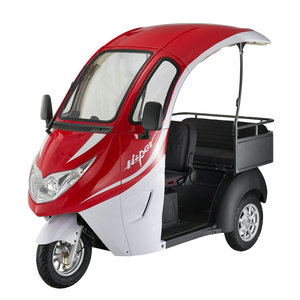 2018 New adult cargo and passenger 3 wheel electric tricycle
