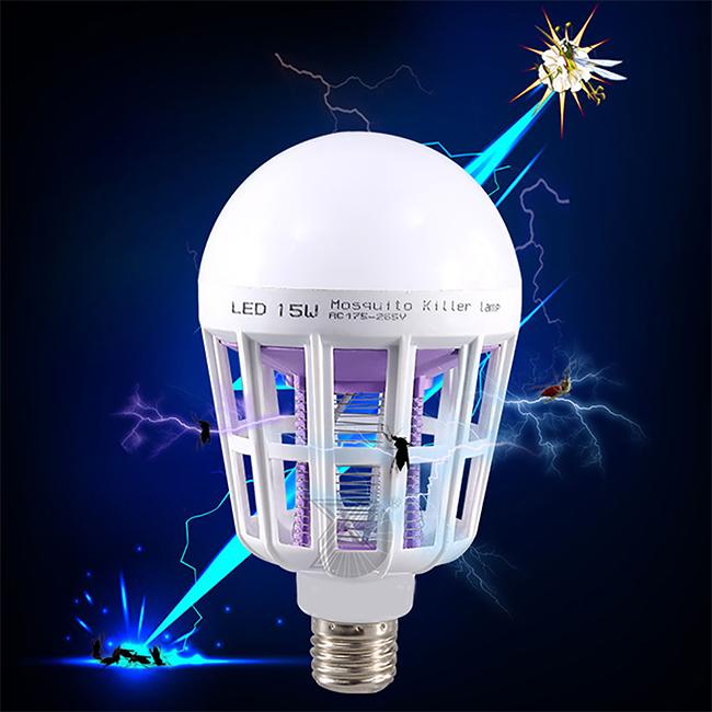 E27 15ワット電子蚊よけランプ蚊キラー電球
