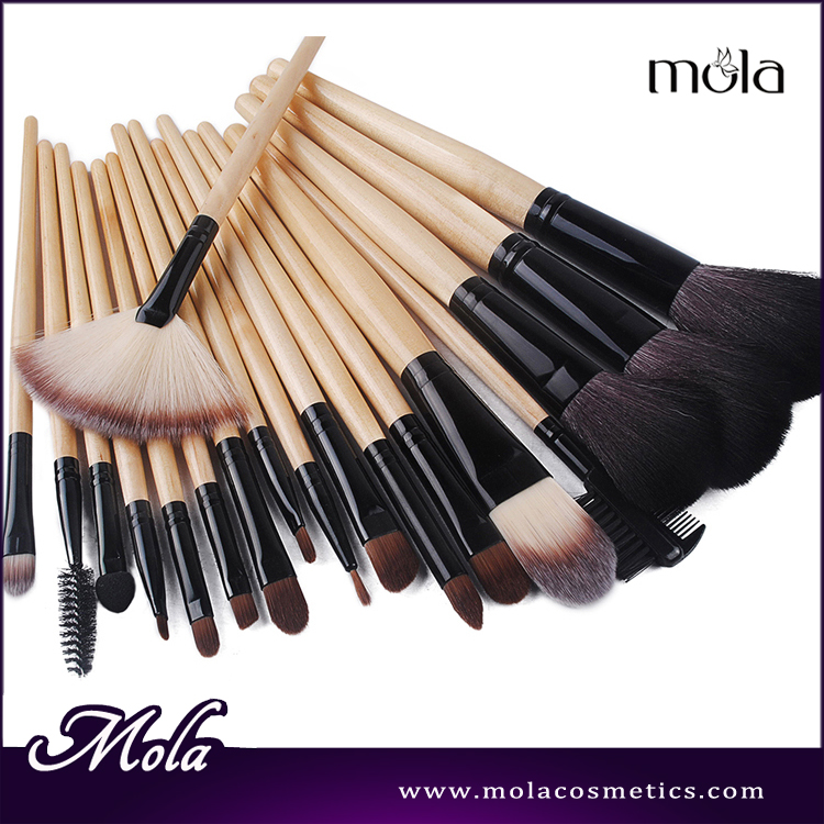 wholesale 18 pieces brush cosmetics make your own brand profeesional makeup set