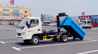 On sale T-king small rear loader garbage truck small size garbage truck