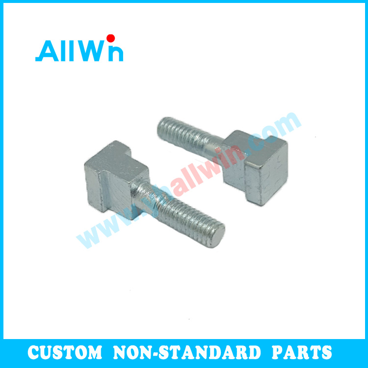M4 M5 M6 M8 Customized bolt T bolt square head bolts