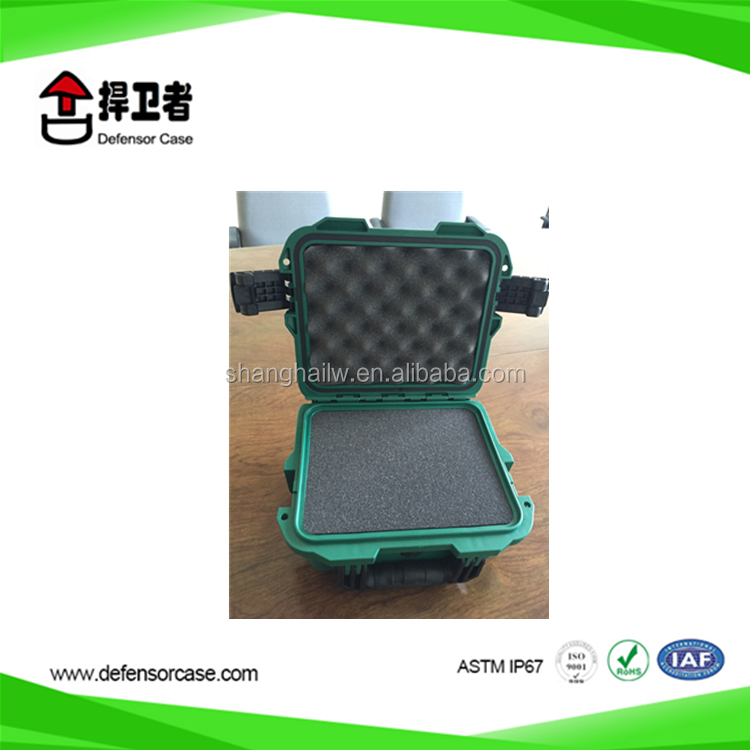 X210-high impact pp Simple handle electrical Plastic tool box hard plastic carrying cases