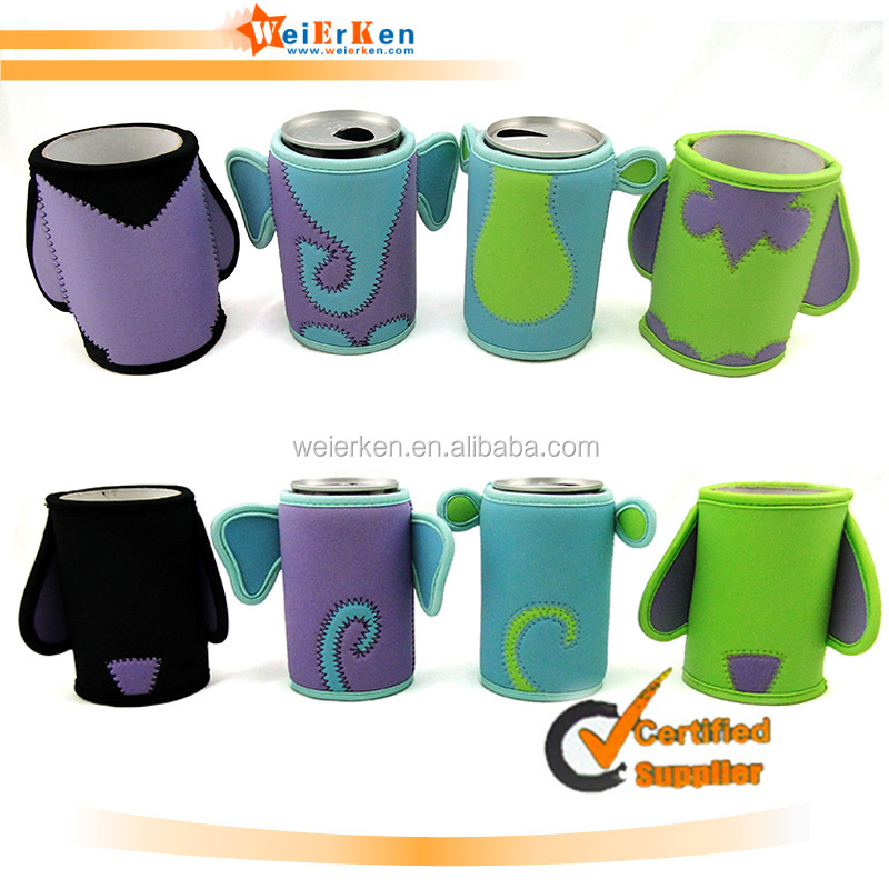 Customized and hot selling neoprene beer can cooler holder