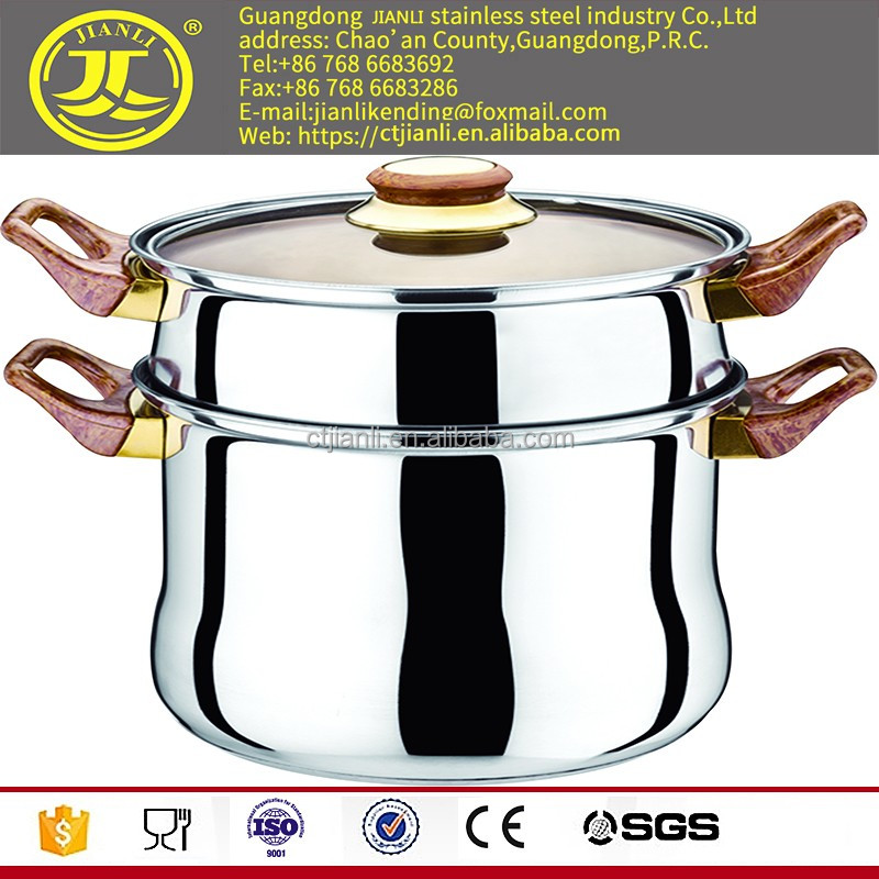 Amc cookware price We are the china supplier for product carbo steel pot cooking pot set stainless steel steamer