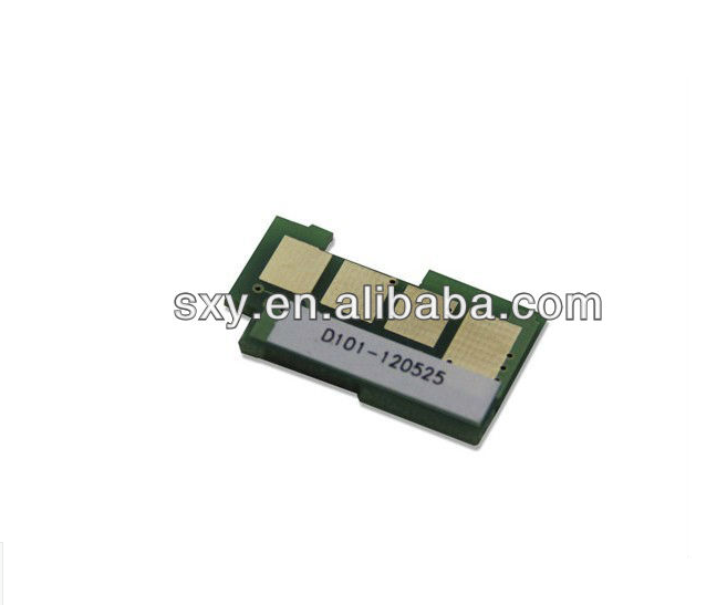 Compatible chip resetter toner chip compatible for Samsung mlt-D101S All brands for pantum p2000 laser toner chips