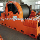 40 tonne electric slipway boat winch drum with line spooler