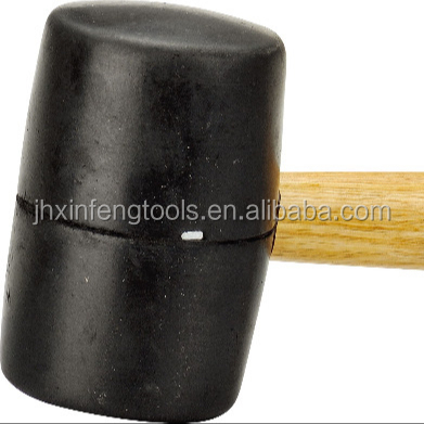 China factory about orange round head plastic hammer integrated hammer pvc mallet with custom logo