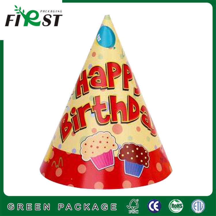 Kids Birthday Party paper hat/fun paper Party hats/Custom Design Party Paper hats