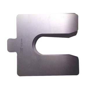 etched U groove high precision flat shims 0 5mm~3 0mm thickness