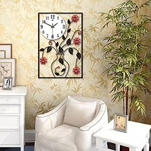 TONPAR Chinese modern classical clock mute creative wall clocks, China wind clock