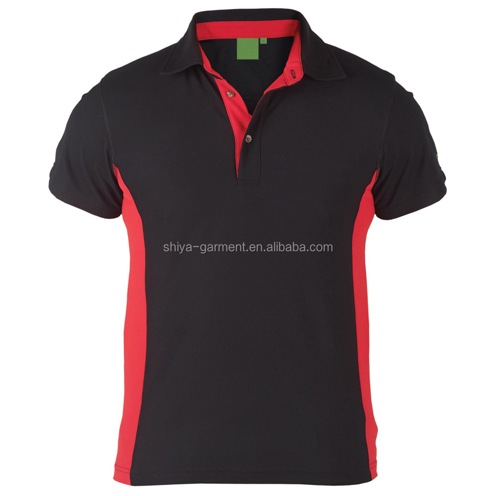 6b1626f7 Black And Red Polo Shirt Design,Work Polo Shirts - Buy Polo Shirt ...