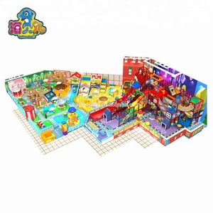 Kids zone colorful indoor children playground equipment low price