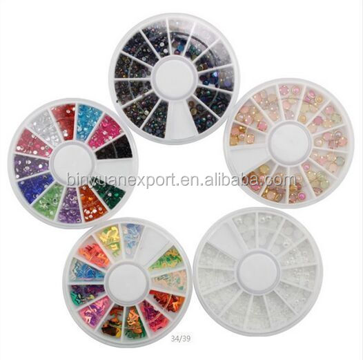 Wholesale Round Multi Color water slide decal sticker