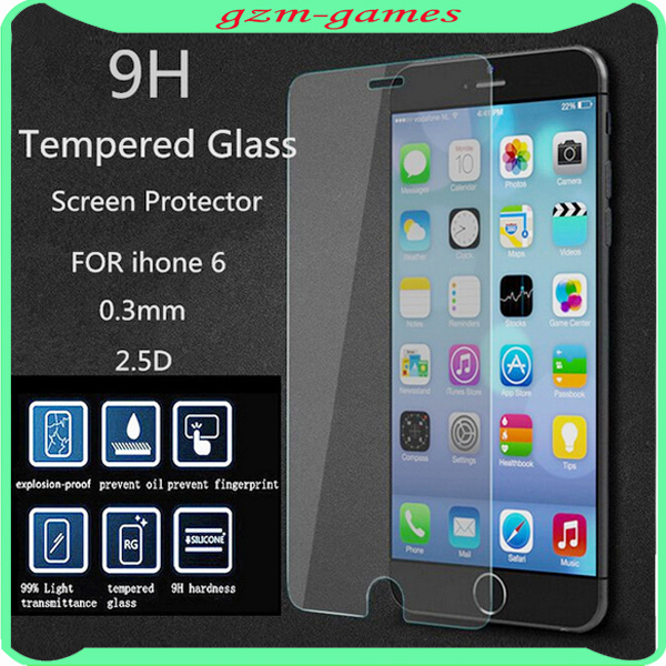 High Quality Tempered Glass Screen Protector For Apple Iphone 6 ...
