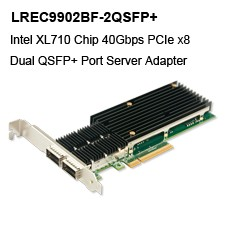 Intel 82599ES PCIe x8 2 Port SFP+ 10G Ethernet Lan Cards ,Compatible with X520 SR2 DA2 E10G42BFSR BTDA