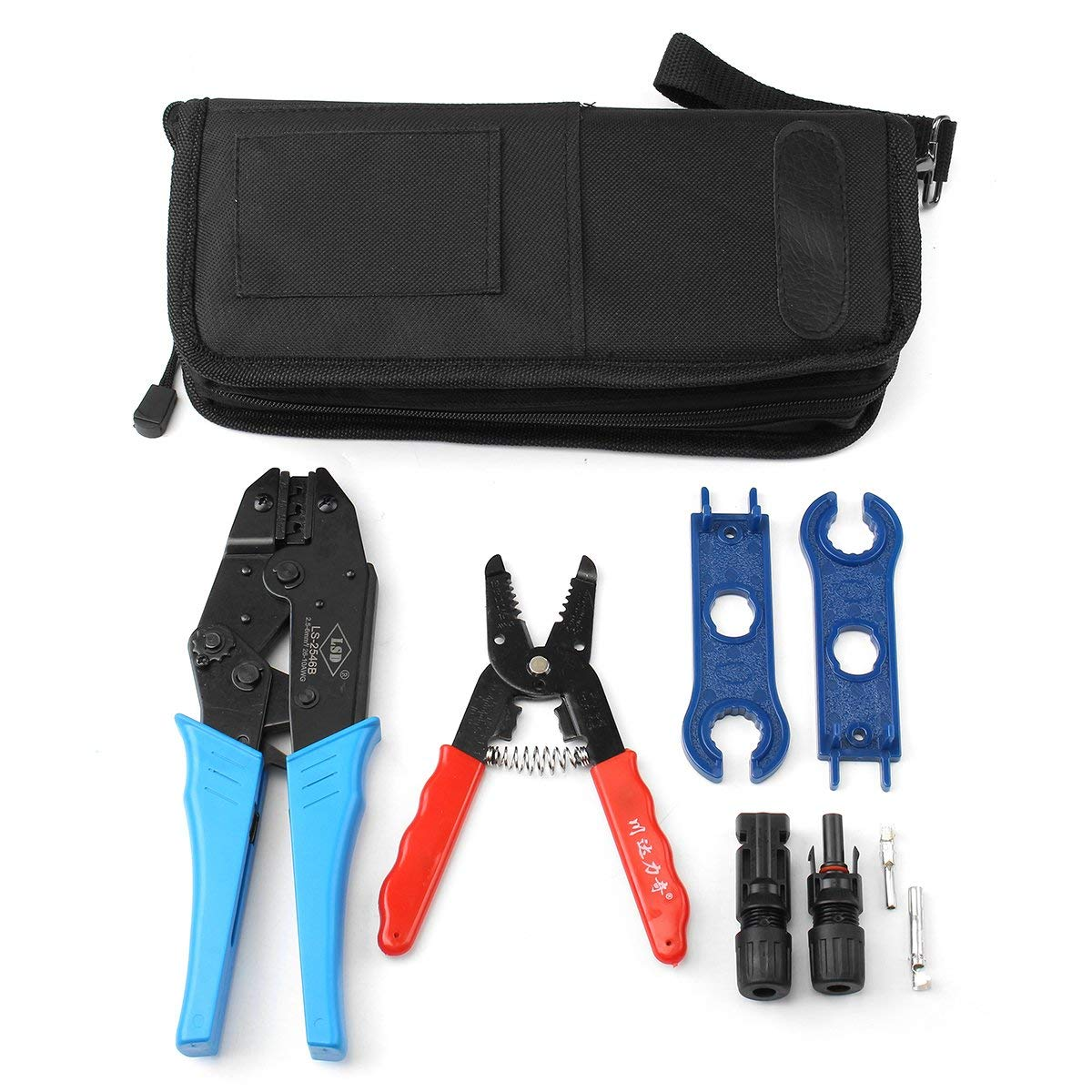 MC4 Solar Panel PV Connector Crimping Tool Solar Terminal Crimping Tool Set