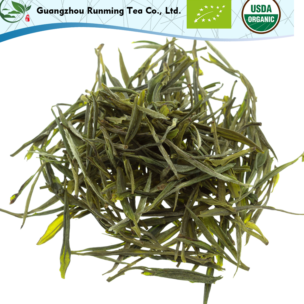 OEM Available Good Quality Health High Mountain Green Tea Leaves Purple Bamboo Shoot Green Tea With Private Label