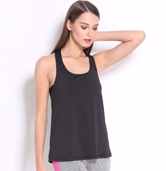 Wholesale Ladies Authentic Sportswear Outside Fitness Wear Yoga Running Tank Top 9
