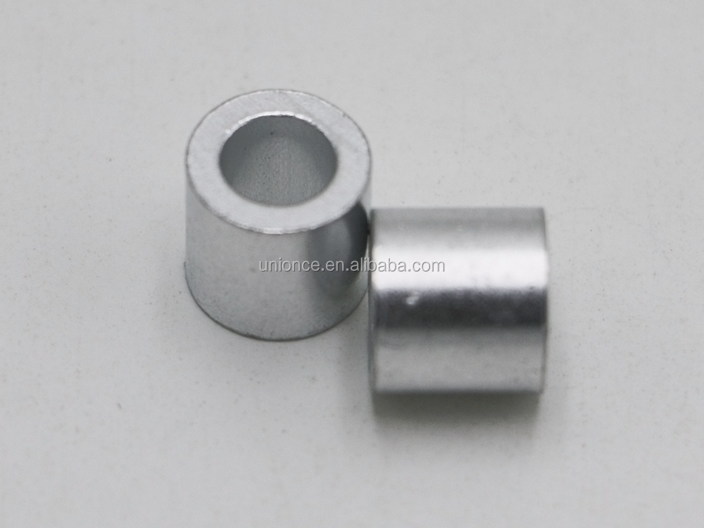 Klifting Aluminium Stop For Rope Swaging Button Wire Rope Sleeve ...