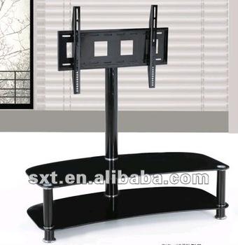 lastest style outdoor tv standlcd glass tv stand design
