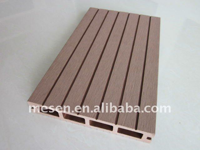 145*25mm wood plastic dock covering/decking lumber