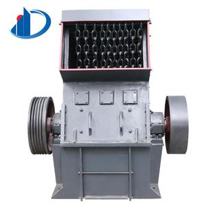 Vertical pc400x300 diesel coal double stages rotor mini impact hammer crusher mill