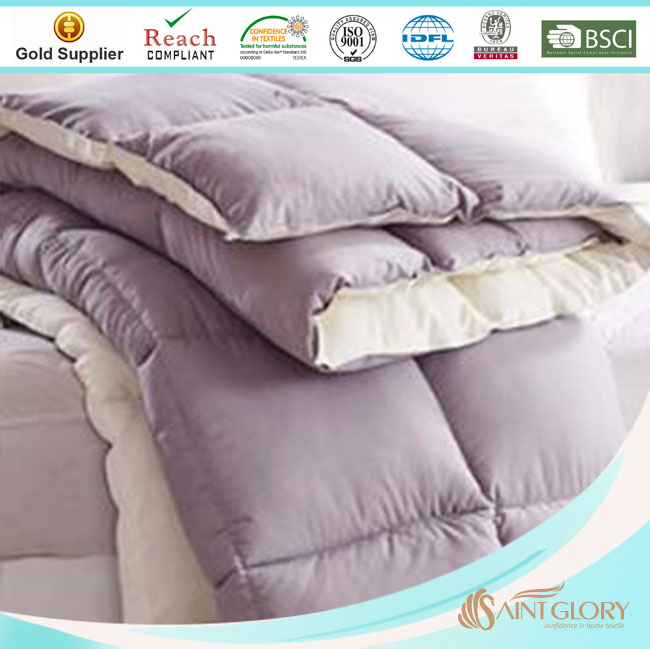 double face polyester microfiber filling quilt for US market