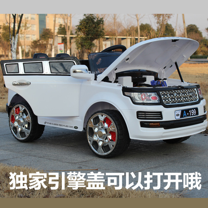 buy landrovera199 four pairs of children electric car remote control car can. Black Bedroom Furniture Sets. Home Design Ideas