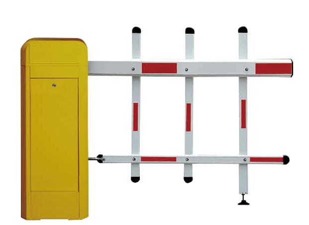Aluminum alloy parking gate barrier high way retractable barrier fence gate crowd control barrier QG-DZ-001
