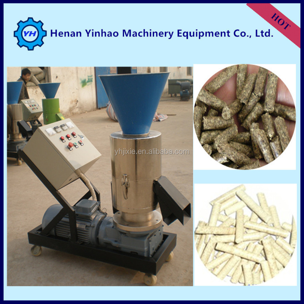 Yinhao Brand Chicken Rabbit Cow Feed Processing Equipment /Poultry Food Pellet Machine/machine to make wood pellets