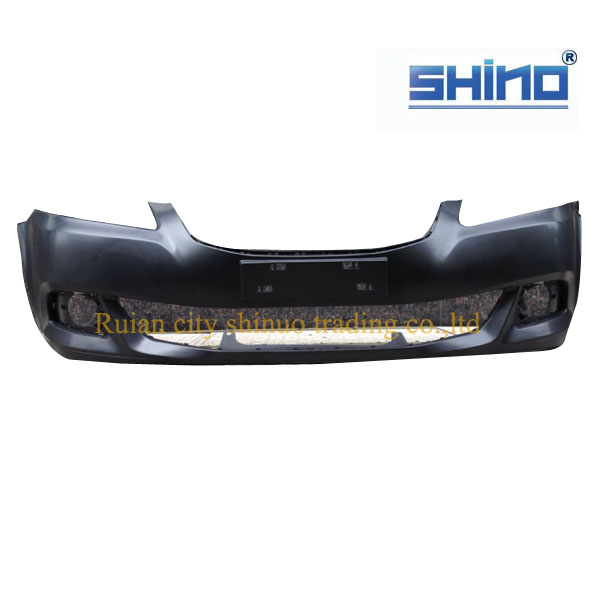 Auto spare parts for Chery E5 front bumper ,A21-2803611FN ,with ISO9001 certification ,standard package anti-cracking