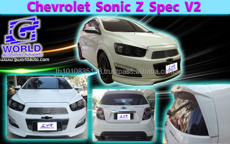 Chevrolet Aveosonic Hb Body Kit Abs Z Spec V2 Style 5pcs Buy