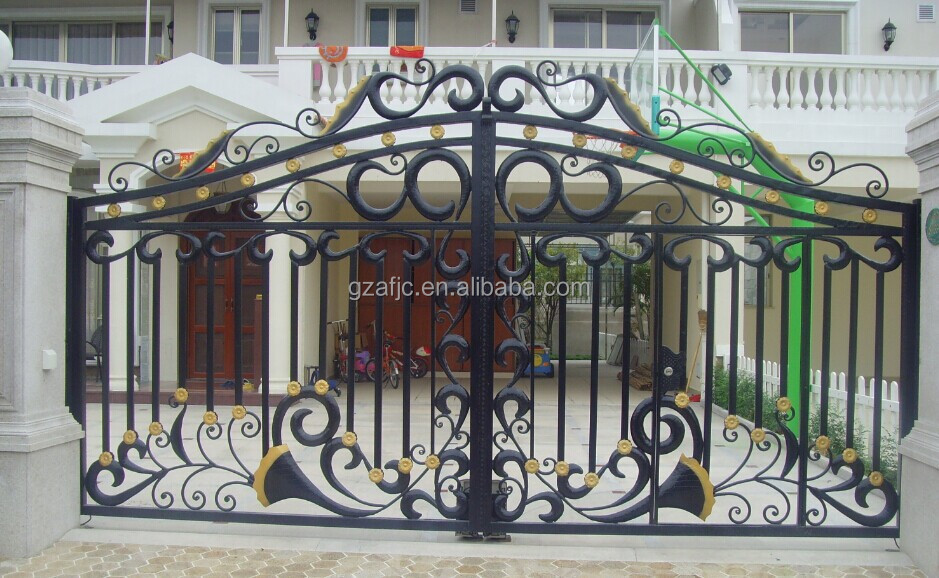 New Design Gate For Houses,Metal Home Gates,House Gate Designs ...