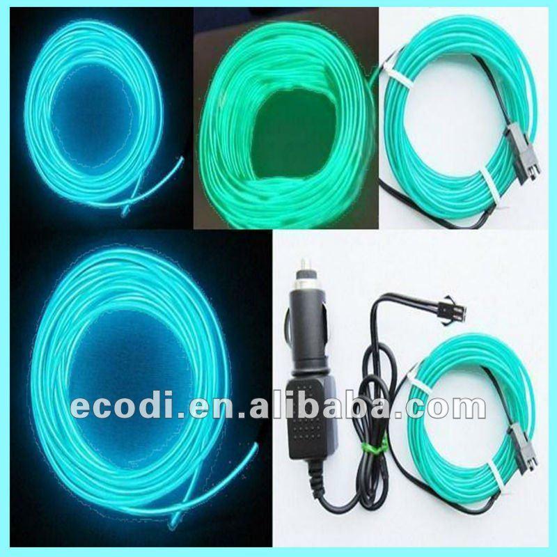 Hottest ! Super Bright Decorative Usb El Wire/fluorescent Cable ...