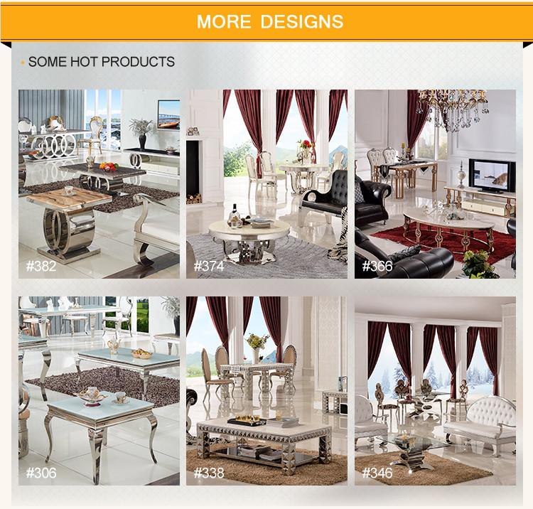 E380 Xingqing Living Room Furniture Marble Showcase Designs Mart Dubai TV Stand