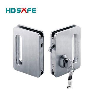 Stainless Steel Double Sliding Door Lock Set With Finger Pull Buy