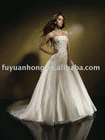 bridesmaid gown/popular wedding dress/FYH-WD1511