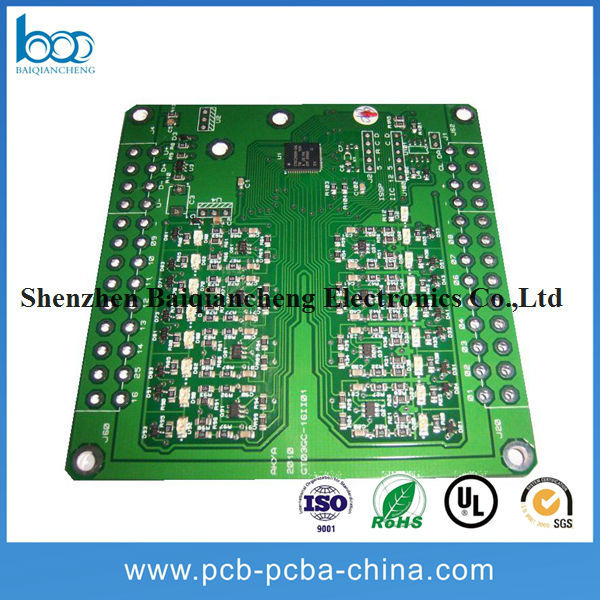 single side oem circuit board assembly with passive components