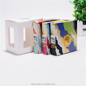 Cheap wholesale paper logo box custom printed mens underwear packaging