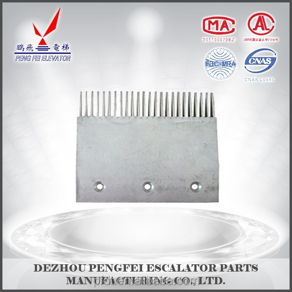 large size comb plate for elevator parts for Thyseen brand