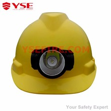 Industry construction worker Safety helmet with head lamp