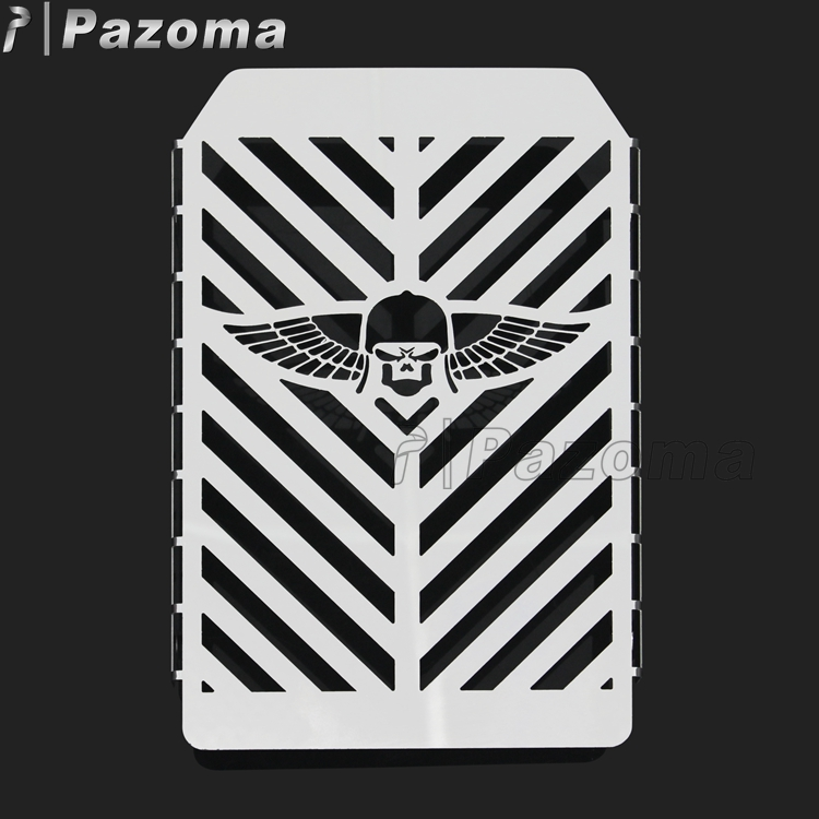 Pazoma Motorcycle Radiator Guards Cover Grille For Kawasaki Vulcan VN 1500