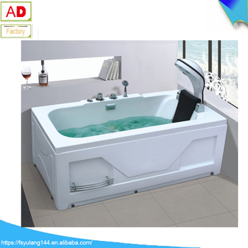 AD 1729 Head Massage Waterfall Bathtub Shllaow Indoor Above Ground Spa  Single Whirlpool Hot Tub