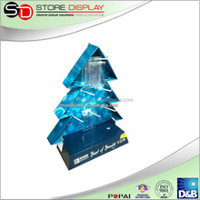 Cardboard Christmas tree to Celebrate Christmas / Best Design for Display Stand for Advertising