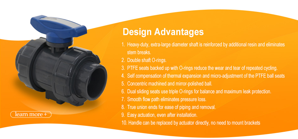 asahi cepex true union disassemble ball valve plastic