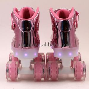 New product 2018 four wheel roller skate shoes flashing flash With Promotional Price