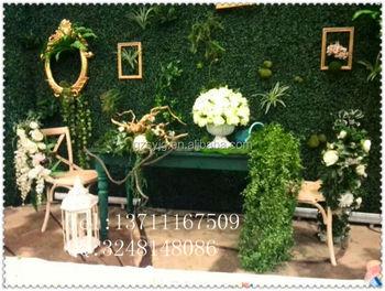Plante Verte Artificielle Mur Faux Mur D Herbe Pour La Decoration